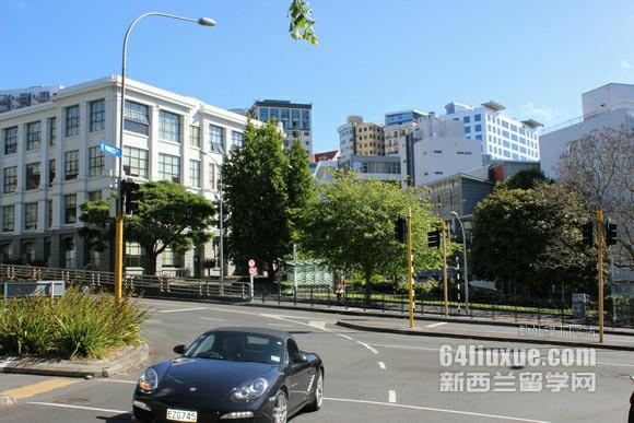新西兰大学地理位置