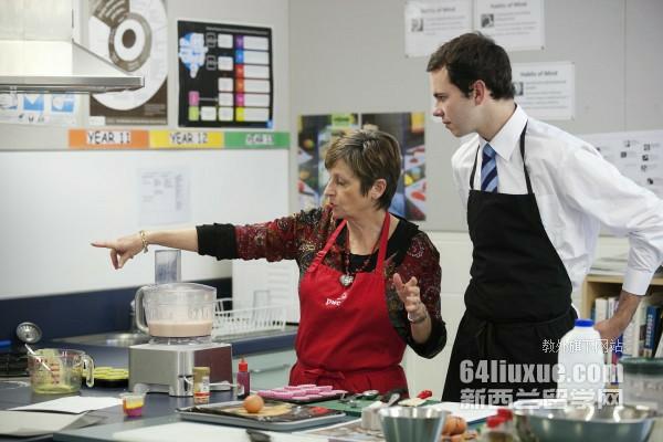 新西兰厨艺学校排名