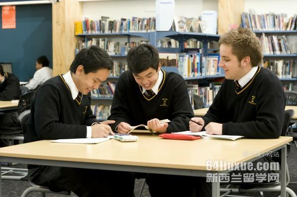 2018新西兰高中排名