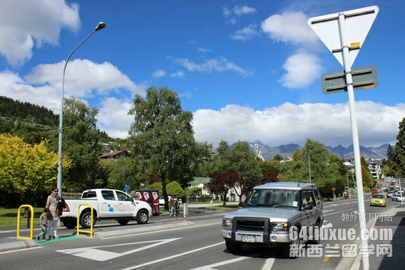大学毕业去新西兰工作