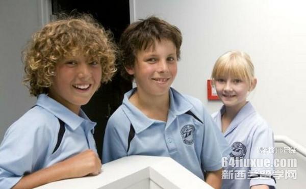 新西兰鲸鱼湾公立小学