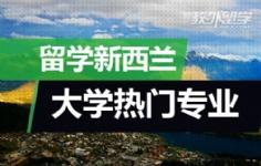 留学新西兰大学热门专业