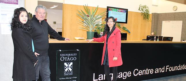 教外留学应邀访问奥塔哥大学