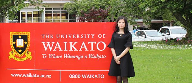 教外留学应邀访问怀卡托大学